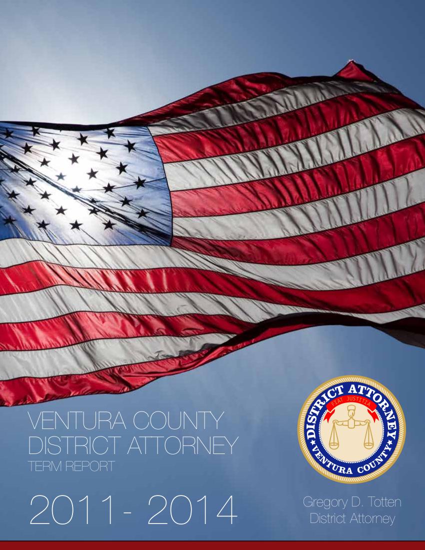 Ventura County District Attorney Term Report 2011-2014